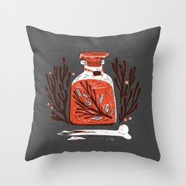 Symbol Jar Throw Pillow