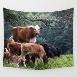 Cows Wall Tapestry
