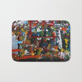 Painted sheet Bath Mat