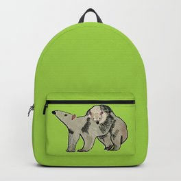 Mother and son anteater Backpack
