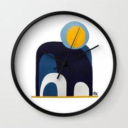 When One Door Closes Wall Clock