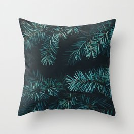 Pine Needles Throw Pillow