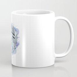 Light Feathers mandala Coffee Mug