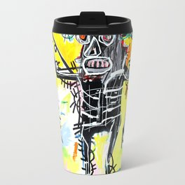 Jean-Michel Basquiat - Fishing 1981 Travel Mug