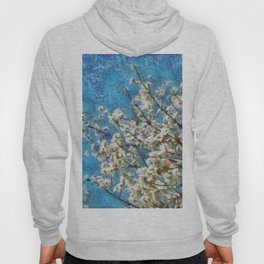 Blossom and Blue Sky In Monet Style Hoody