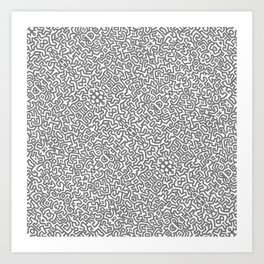 PATTERD HARING Art Print