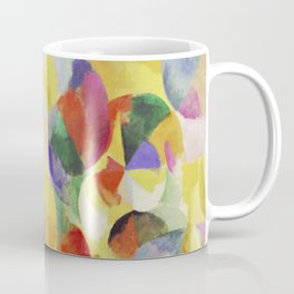 "Robert Delaunay ""Simultaneous contrasts sun and moon"" Coffee Mug"