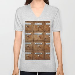 Pharmacy storage Unisex V-Neck