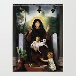 Gal Gadot / holy mother Poster