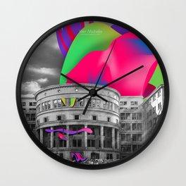 Soviet Architecture Wall Clock