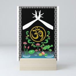 Symbolized Indian drawing Mini Art Print