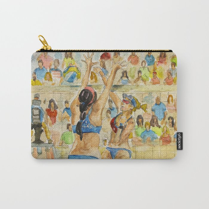 Kerri Walsh Jennings - Pro Beach Volleyball player Carry-All Pouch