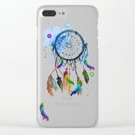 atrapasueños colorido Clear iPhone Case