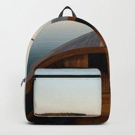 Summer Mornings On The Lake Backpack