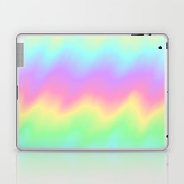Rainbow Ripples Laptop & iPad Skin