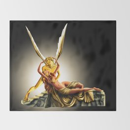 CUPID AND PSYCHE Throw Blanket