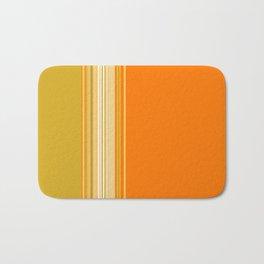 Retro Color Stripe Decor Bath Mat