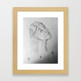 SHAPE Up Framed Art Print