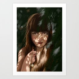 Chid Cry Art Print