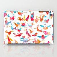 takmaj iPad Cases featuring Birds by takmaj