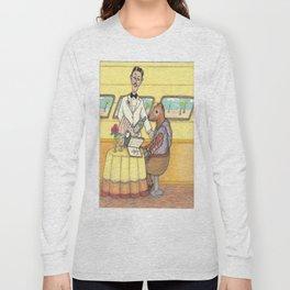 A Fancy Mongoose Long Sleeve T-shirt
