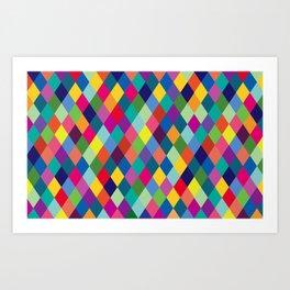 Geometric Pattern #8 Art Print
