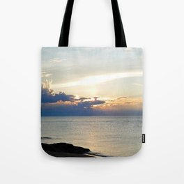 Seascape on the Saint-Lawrence Tote Bag