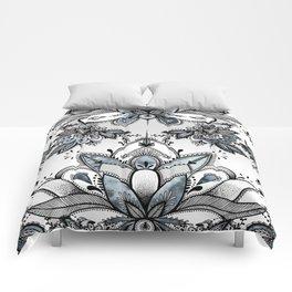 Denim Paisley Comforters