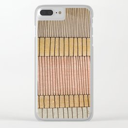 Simplicity #2 Clear iPhone Case