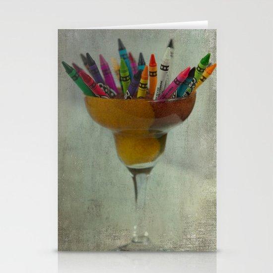 CRAYON LOVE : Addiction Stationery Cards