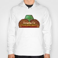 magic the gathering Hoodies featuring Everyday I'm Shuffling  |  Magic The Gathering by Silvio Ledbetter