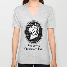 The Wolf of Wall Street Stratton Oakmont Inc Unisex V-Neck