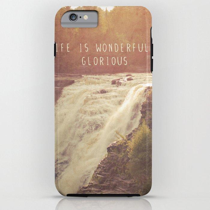wonderful waterfalls iPhone Case