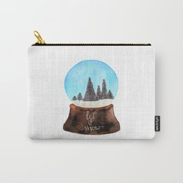 Let it Snow(globe) Carry-All Pouch