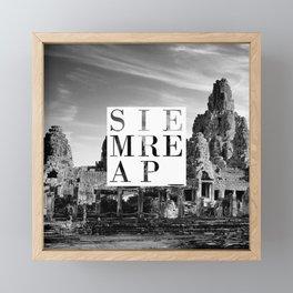 Siem Reap Framed Mini Art Print