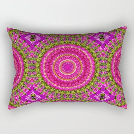 Kaleidoscope No. 5 Rectangular Pillow
