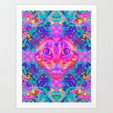 Ai-Lady Jasmine Art Print