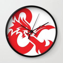 D&D Wall Clock