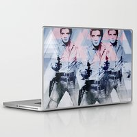 guns Laptop & iPad Skins featuring 228 GUNS by AMBIDEXTROUS™