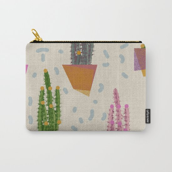 Cacti in the pot Carry-All Pouch