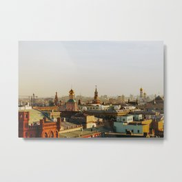 Rooftop of Moscow Metal Print