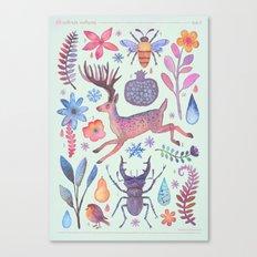 Et coloris natura I Canvas Print