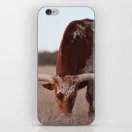 Longhorn iPhone Skin