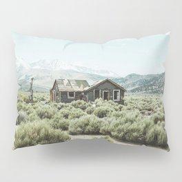 Old house in desert Pillow Sham