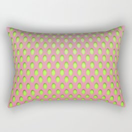Elongated Holes1 Lusty Gallant Rectangular Pillow