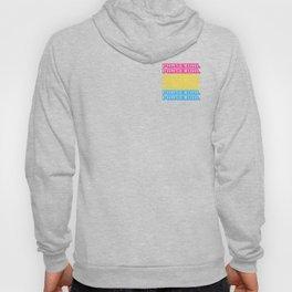 Pansexual Pansexual Pride Flag Colors Bisexual Pan Humor Pun Design Cool Gift Hoody