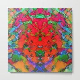 Little red symmetry Metal Print