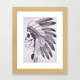 Headpeice Framed Art Print