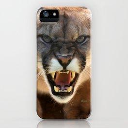 ONE MAD CAT iPhone Case