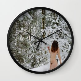 Fire and Ice Wall Clock